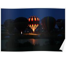 Balloon Glow Poster