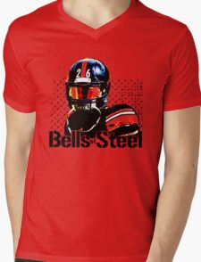 Bells of Steel Mens V-Neck T-Shirt
