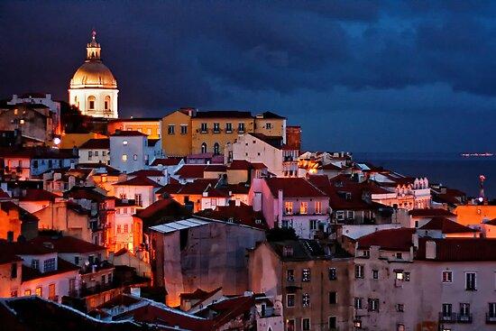 Lights of Lisboa 2 by Nayko