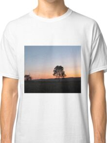 sunrise in the countryside Classic T-Shirt