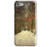 Enchanting Dutch Winter Landscape iPhone Case/Skin