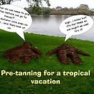 Pre tanning for a tropical vacation? by patjila