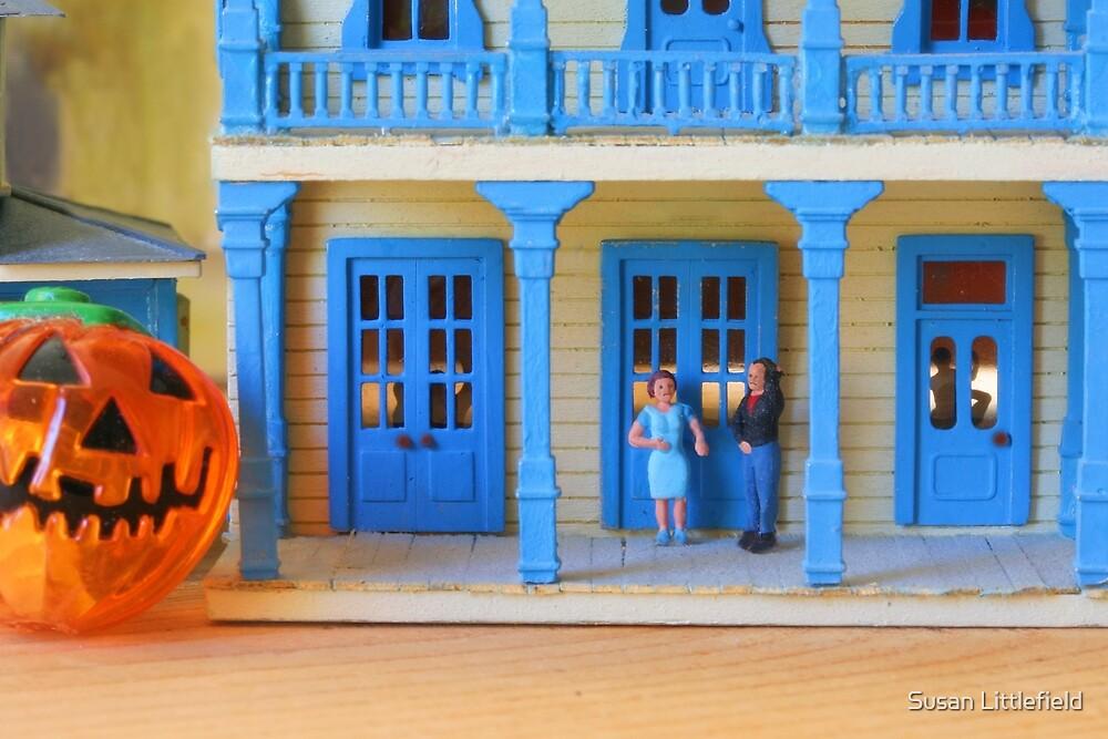 Poor Hector went door to door looking for a ghost costume, but nobody gave a sheet! by Susan Littlefield