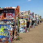 Cadillac Ranch by Loree McComb