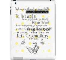 No Fairy Godmothers iPad Case/Skin