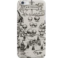 Prydain Map iPhone Case/Skin