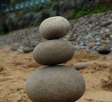 Langland Beach Huts by pebblebalancing