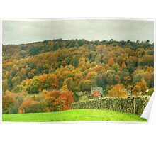 The Colours of Autumn-Town End Poster