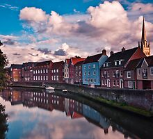Quay Side, Norwich by Alex Maciag