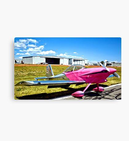 Pink Panther Aircraft Canvas Print