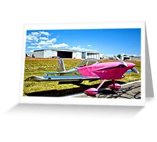 Pink Panther Aircraft Greeting Card