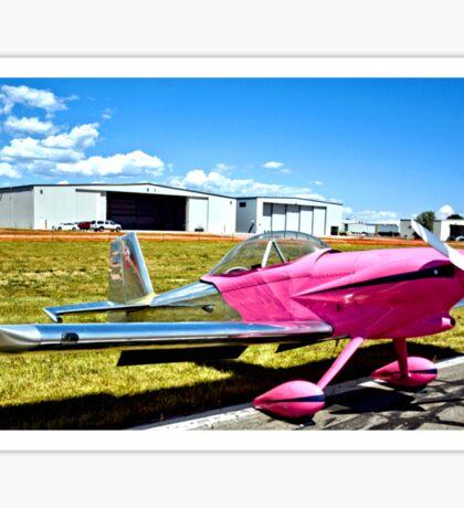 Pink Panther Aircraft Sticker