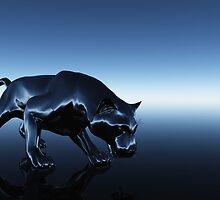 Black Panther by Nadja Heuer