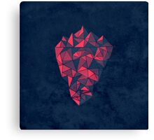 Geometric Iceberg Canvas Print