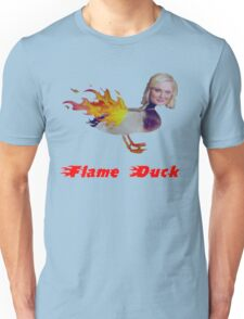 Parks and Recreation Flame Duck Unisex T-Shirt