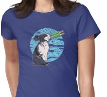 Popsicle Bunny Womens Fitted T-Shirt