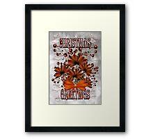 Christmas Greetings Framed Print