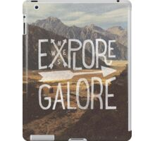 Explore Galore iPad Case/Skin