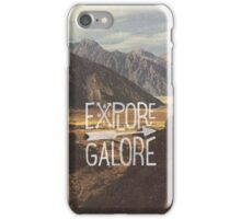 Explore Galore iPhone Case/Skin