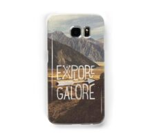 Explore Galore Samsung Galaxy Case/Skin