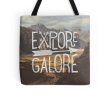 Explore Galore Tote Bag