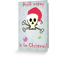 it be christmas Greeting Card