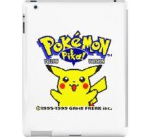 Pokemon Yellow iPad Case/Skin