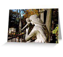 Pere Lachaise Cemetery IV Greeting Card