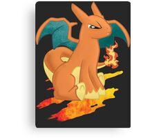 Pocket Charizard Pony Canvas Print