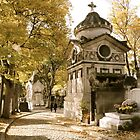 Pere Lachaise Cemetery VI by Louise Fahy