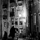 Little dark street by Nayko
