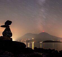 Smokey Star Trails by posterity