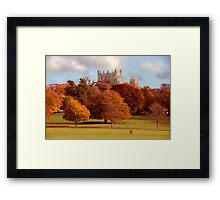 Wollaton Hall and Deer Park Nottingham Framed Print