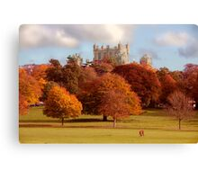 Wollaton Hall and Deer Park Nottingham Canvas Print