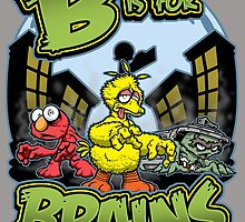 B is for Brains! by CrimsonOwl