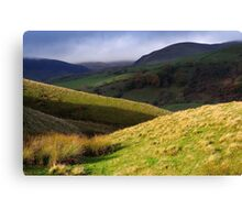 The Howgill Fells - Cumbria Canvas Print