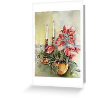 Candles and Copper Greeting Card
