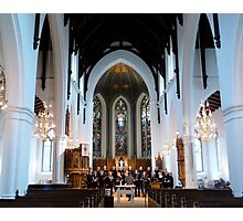 Choire Practice at Michael´s Mass Photographic Print