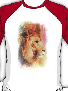 Colorful Expressions Lion T-Shirt