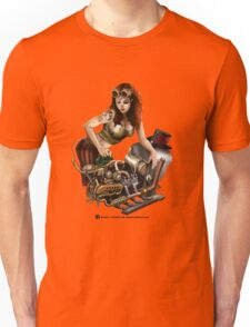 Girl in goggles Unisex T-Shirt
