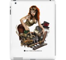 Girl in goggles iPad Case/Skin