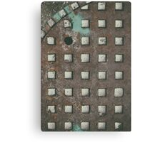 Sewer detail Canvas Print