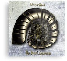 Nautilus  The Metal Aquarium Metal Print