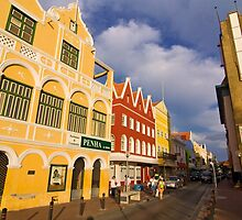Shopping in Willemstad, Curacao by Sven Brogren