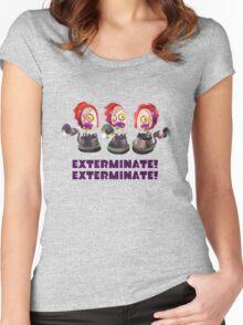 Splatoon! EXTERMINATE, EXTERMINATE! Octobot Women's Fitted Scoop T-Shirt