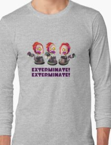 Splatoon! EXTERMINATE, EXTERMINATE! Octobot Long Sleeve T-Shirt