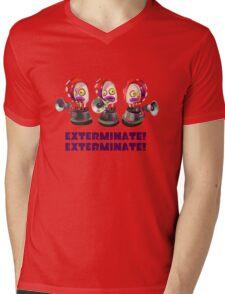 Splatoon! EXTERMINATE, EXTERMINATE! Octobot Mens V-Neck T-Shirt