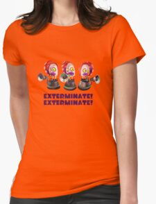 Splatoon! EXTERMINATE, EXTERMINATE! Octobot Womens Fitted T-Shirt