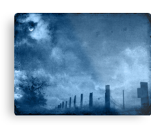 Heavy with mood Metal Print