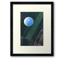 Blue balloon Framed Print
